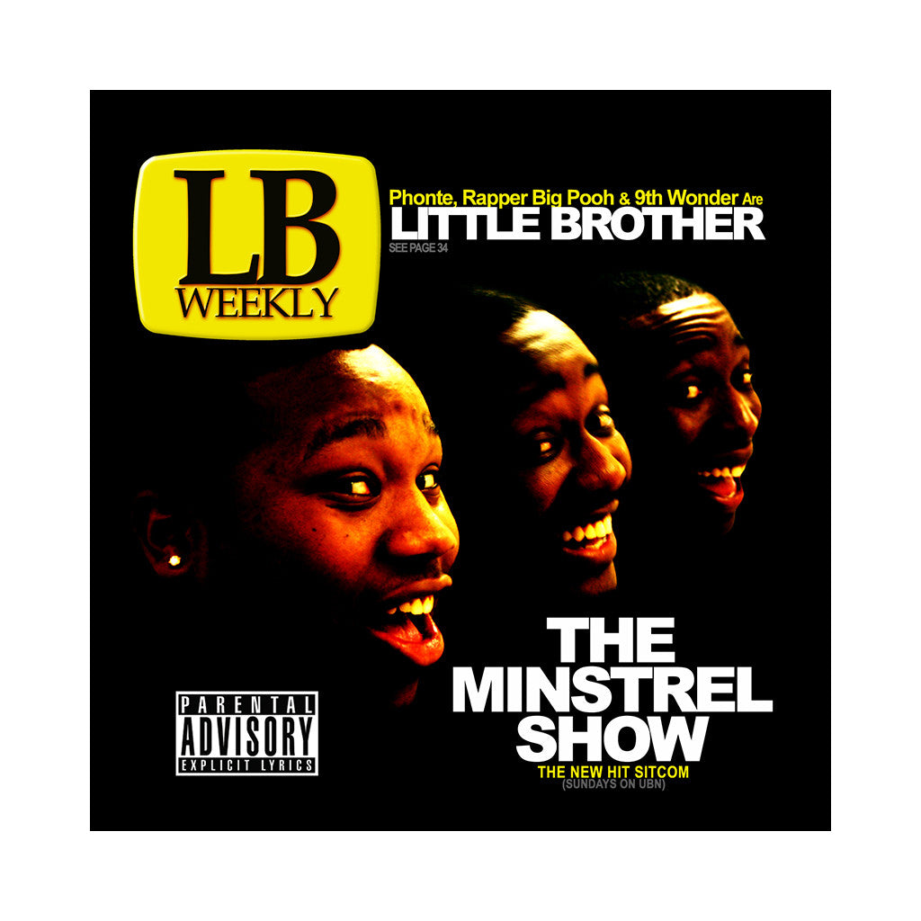 <!--020051004005539-->Little Brother - 'The Minstrel Show' [(Black) Vinyl [2LP]]