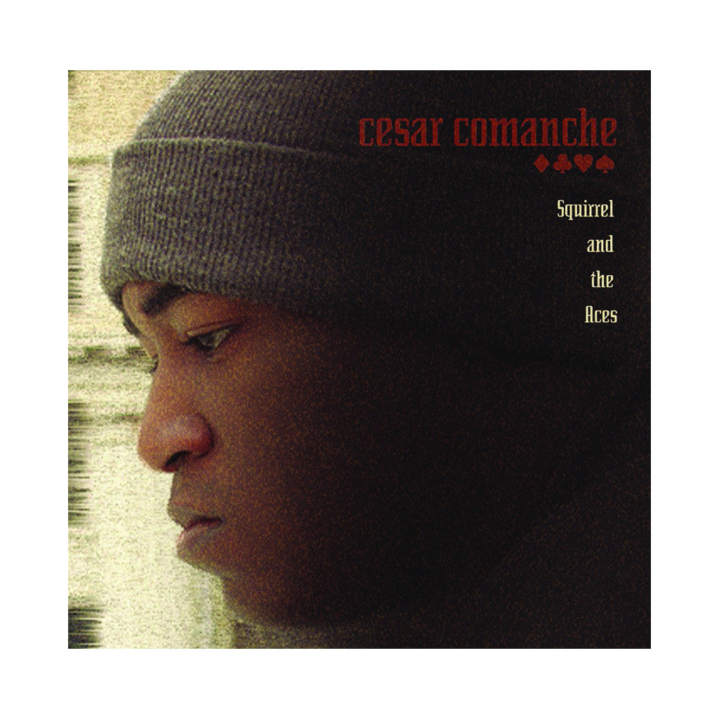 <!--020051025005472-->Cesar Comanche - 'Squirrel And The Aces' [(Black) Vinyl [2LP]]