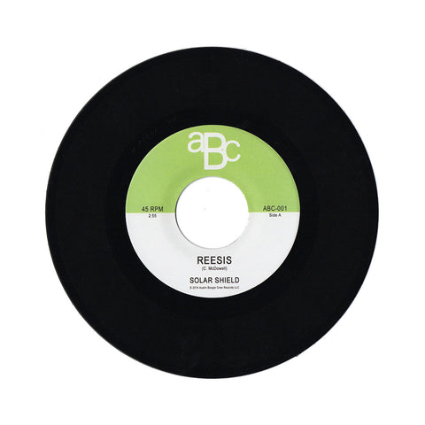 "Solar Shield - 'Reesis/ Beeturia' [(Black) 7"""" Vinyl Single]"
