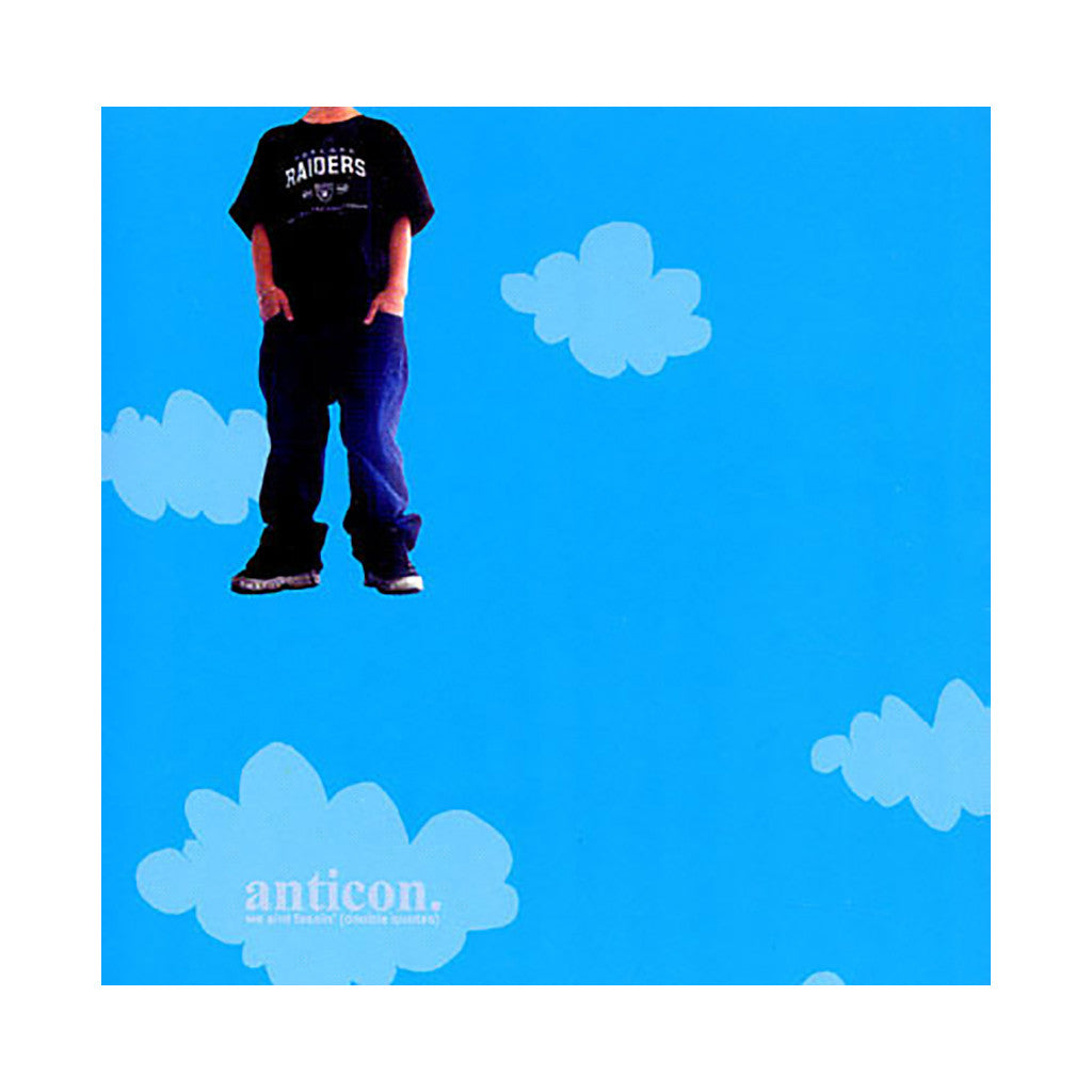 <!--020020226018206-->Anticon & Deep Puddle Dynamics - 'We Ain't Fessin' (Double Quotes)' [CD]