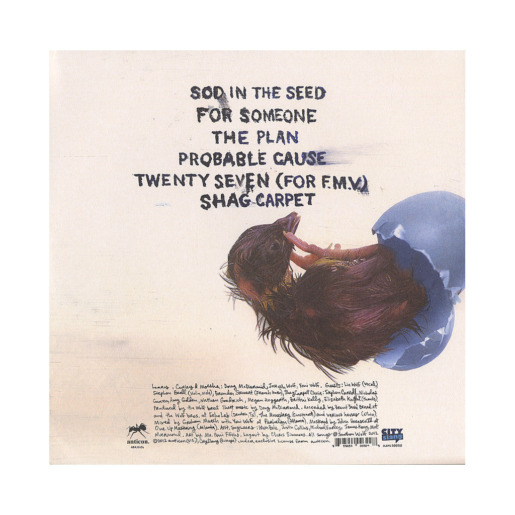 <!--120120828046993-->Why? - 'Sod In The Seed' [(Black) Vinyl EP]