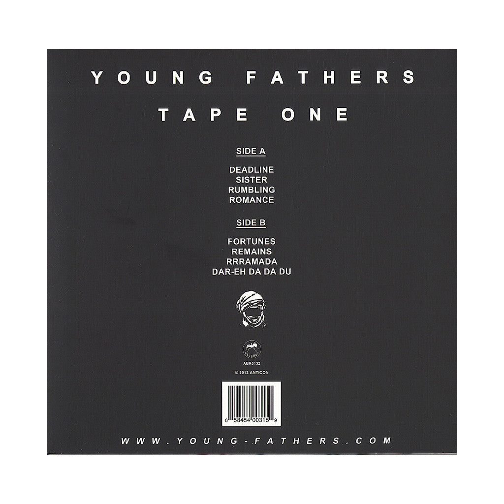 <!--120130205050643-->Young Fathers - 'Tape One' [(Black) Vinyl EP]