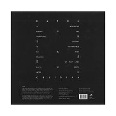 Baths - 'Obsidian' [(Black) Vinyl LP]