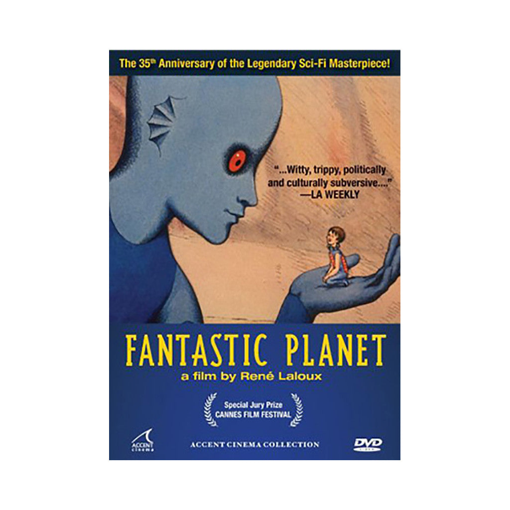 <!--020071023003479-->'Fantastic Planet (La Planete Sauvage)' [DVD]