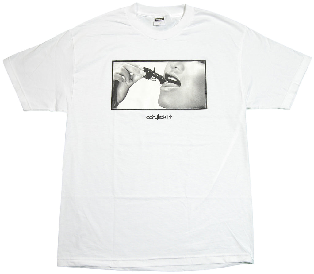 <!--2011110154-->Acrylick - 'Short Circuit' [(White) T-Shirt]