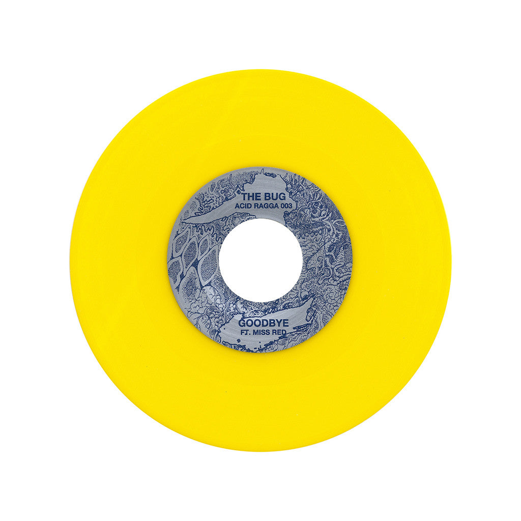 "<!--020130219053384-->The Bug - 'Hardcore Lover/ Goodbye' [(Yellow) 7"" Vinyl Single]"