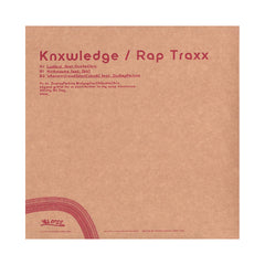 "<!--020131008059323-->Knxwledge - 'Rap Jointz Vol. 1: Rap Traxx' [(Black) 10"" Vinyl Single]"