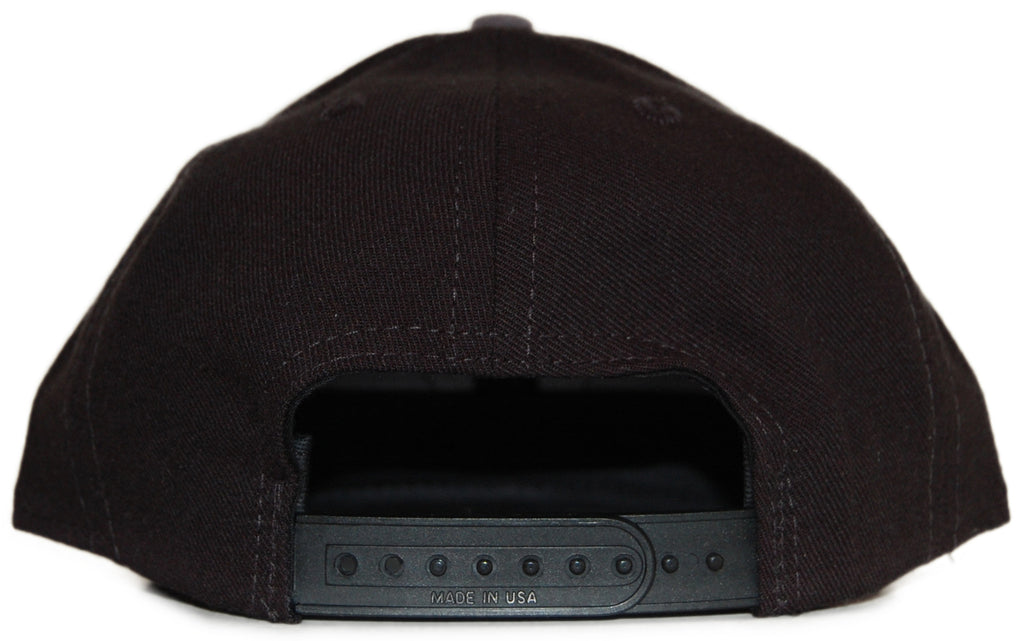 <!--2012041032-->Acrylick - 'Patch Icon' [(Black) Snap Back Hat]