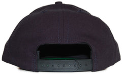 <!--020120410043896-->Acrylick - 'Script' [(Dark Blue) Snap Back Hat]