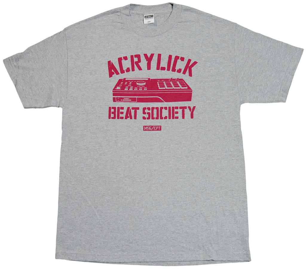 <!--2011091324-->Acrylick - 'Beat Society' [(Gray) T-Shirt]