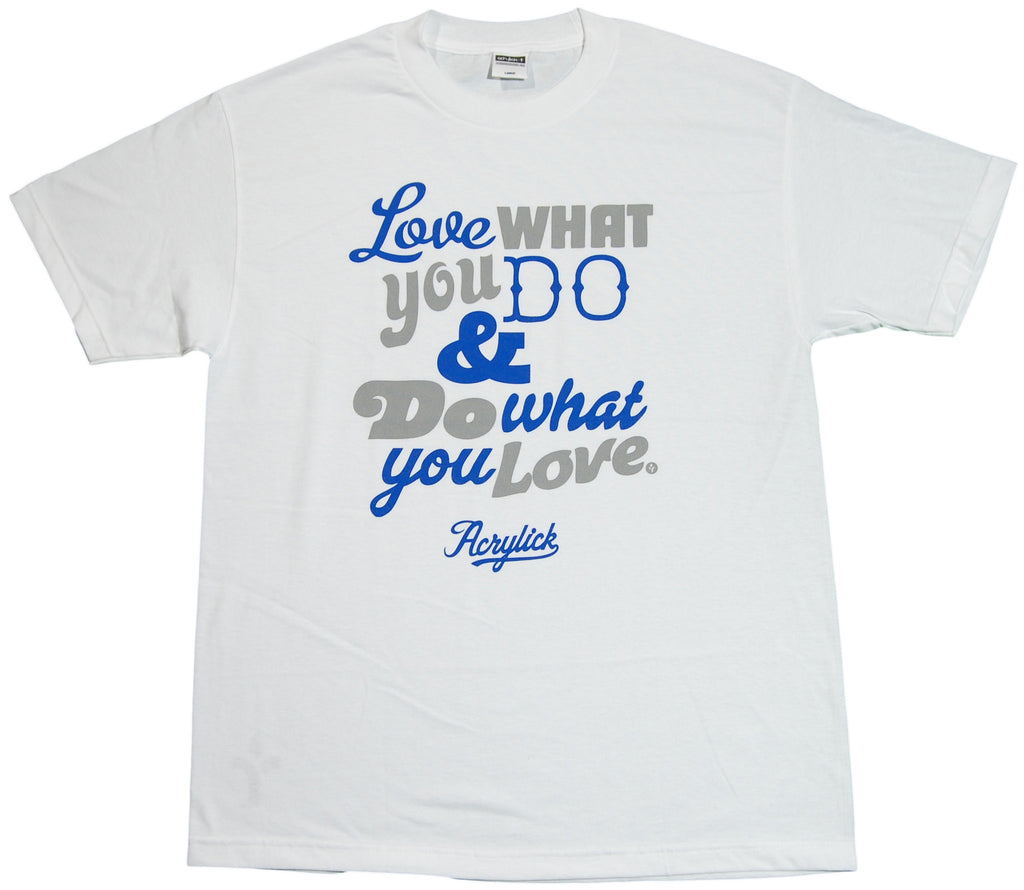 <!--2011091309-->Acrylick - 'For The Love' [(White) T-Shirt]