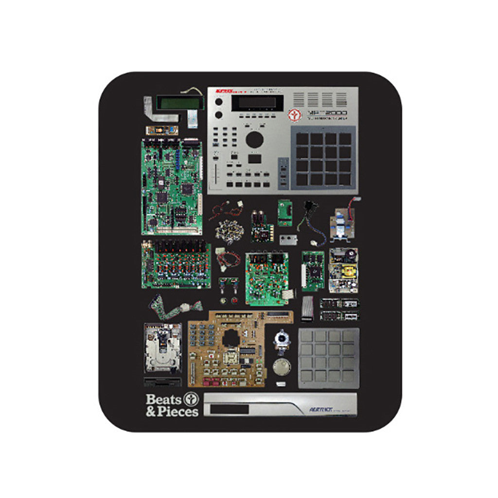 <!--020140910066029-->Acrylick - 'Beats & Pieces' [(Black) Mouse Pad]