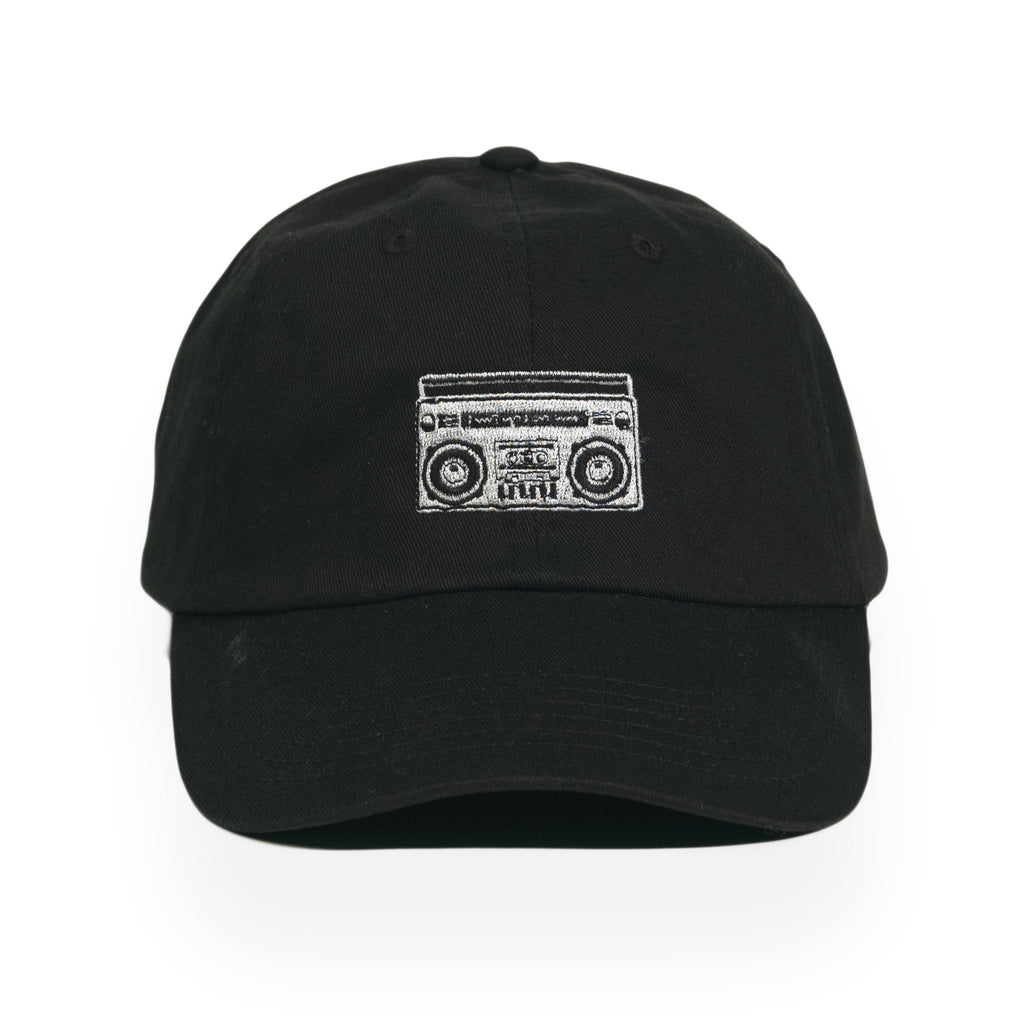 <!--120160907074144-->Acrylick - 'Boombox' [(Black) Strap Back Hat]