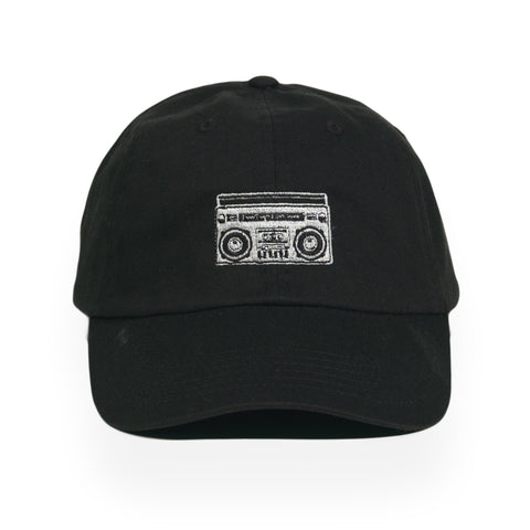 Acrylick - 'Boombox' [(Black) Strap Back Hat]