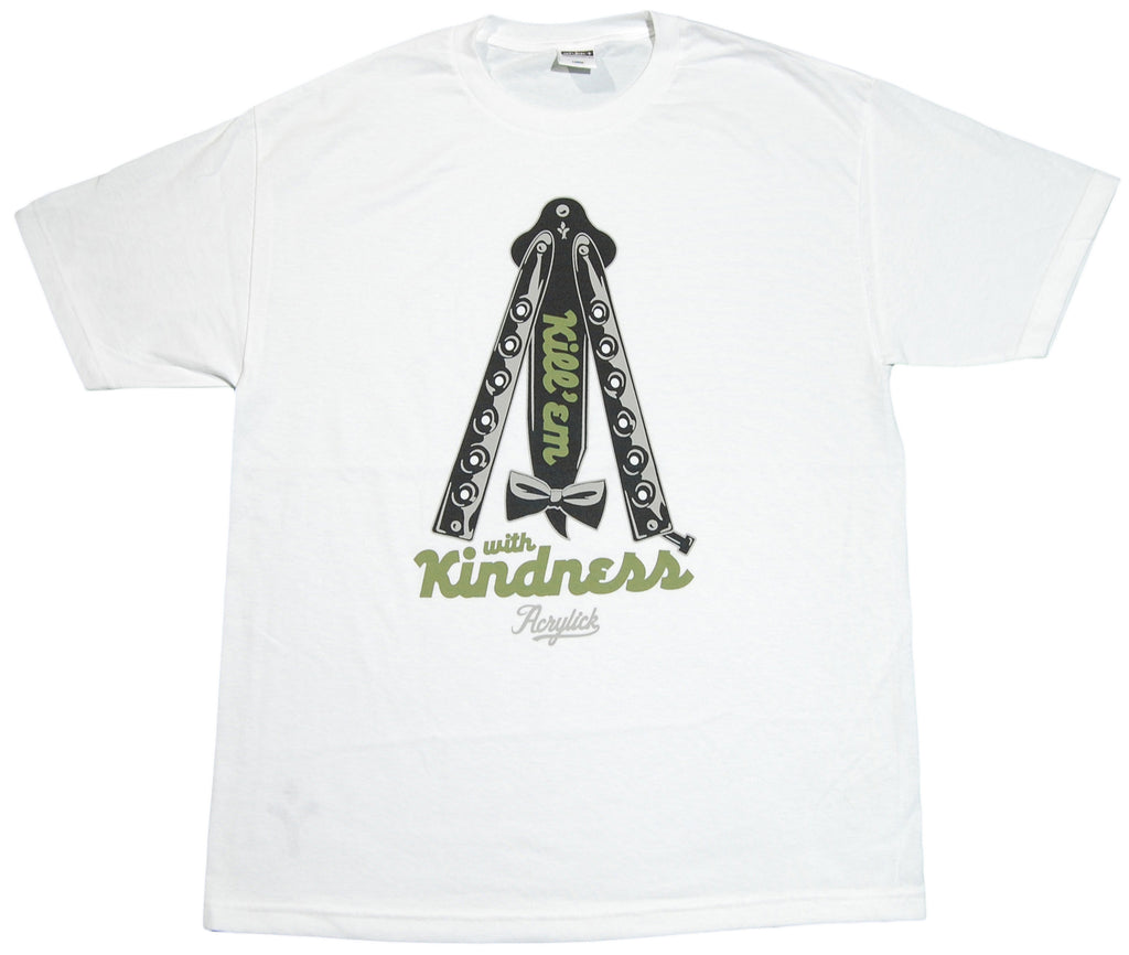 <!--2011121334-->Acrylick - 'Be Kind' [(White) T-Shirt]