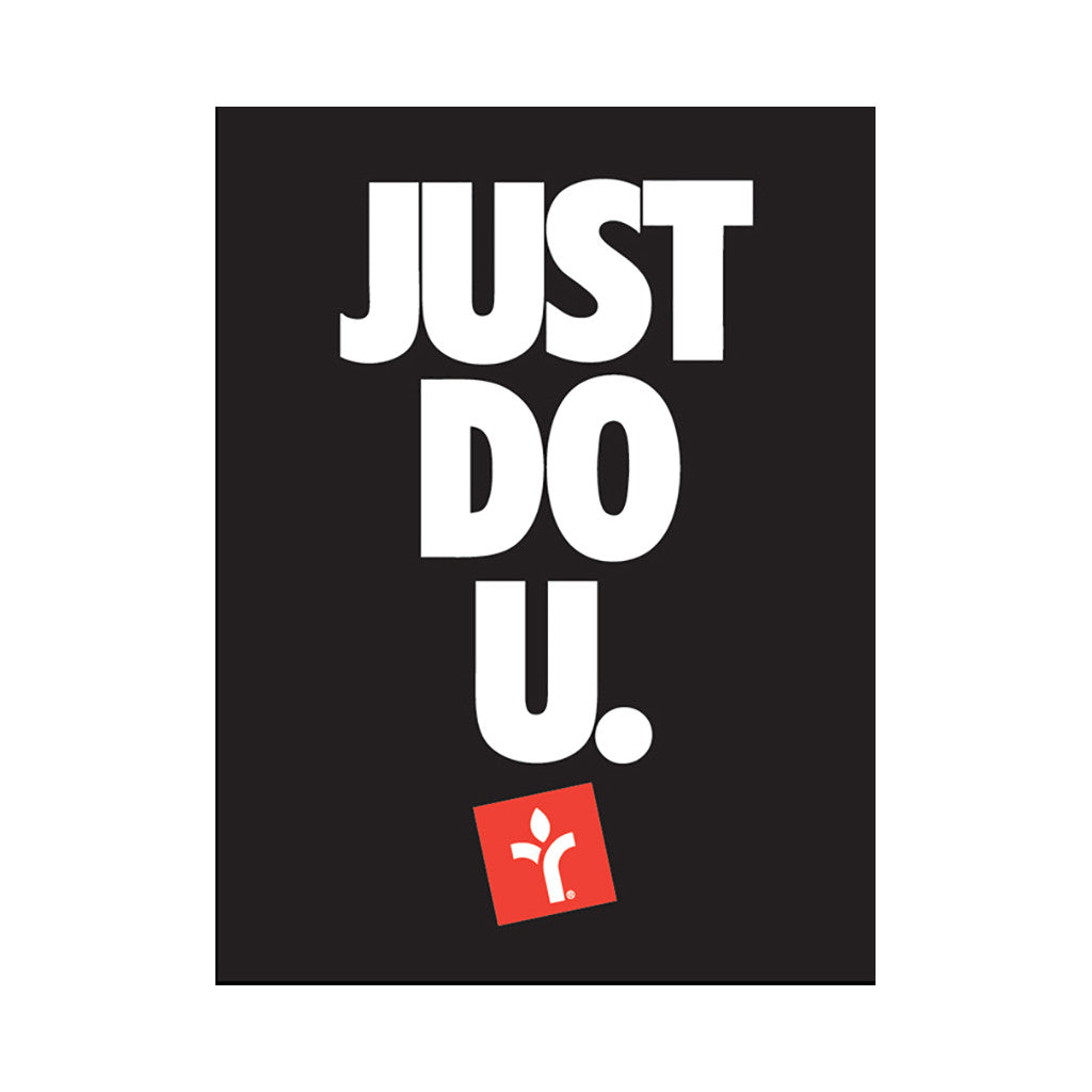 Acrylick - 'Just Do U' [Posters & Prints]