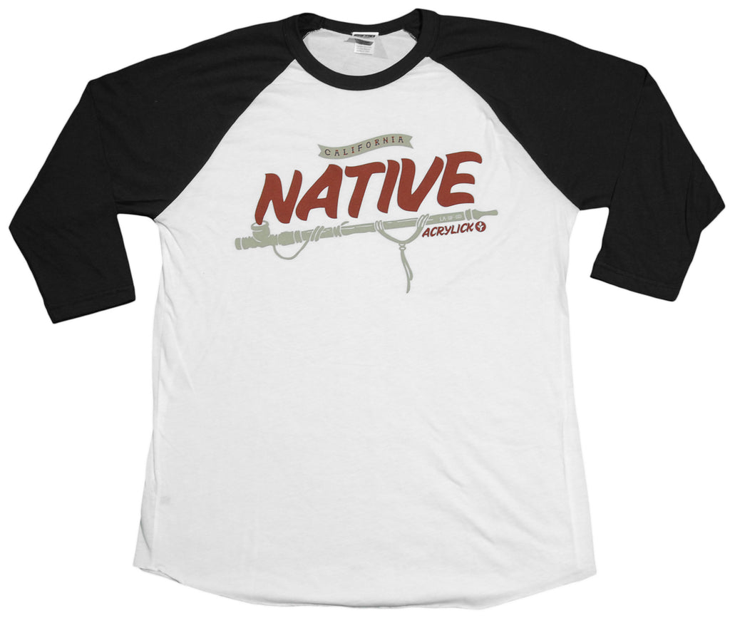 <!--2011121343-->Acrylick - 'Native' [(White) T-Shirt]