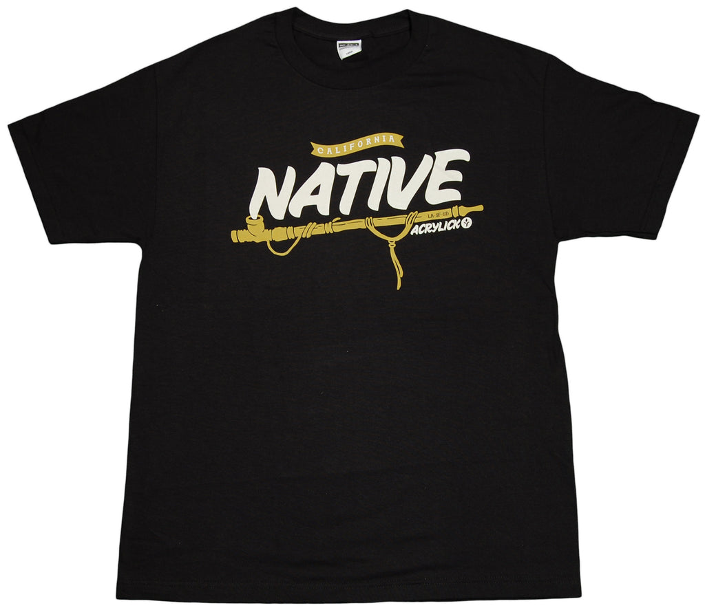 <!--2011121353-->Acrylick - 'Native' [(Black) T-Shirt]