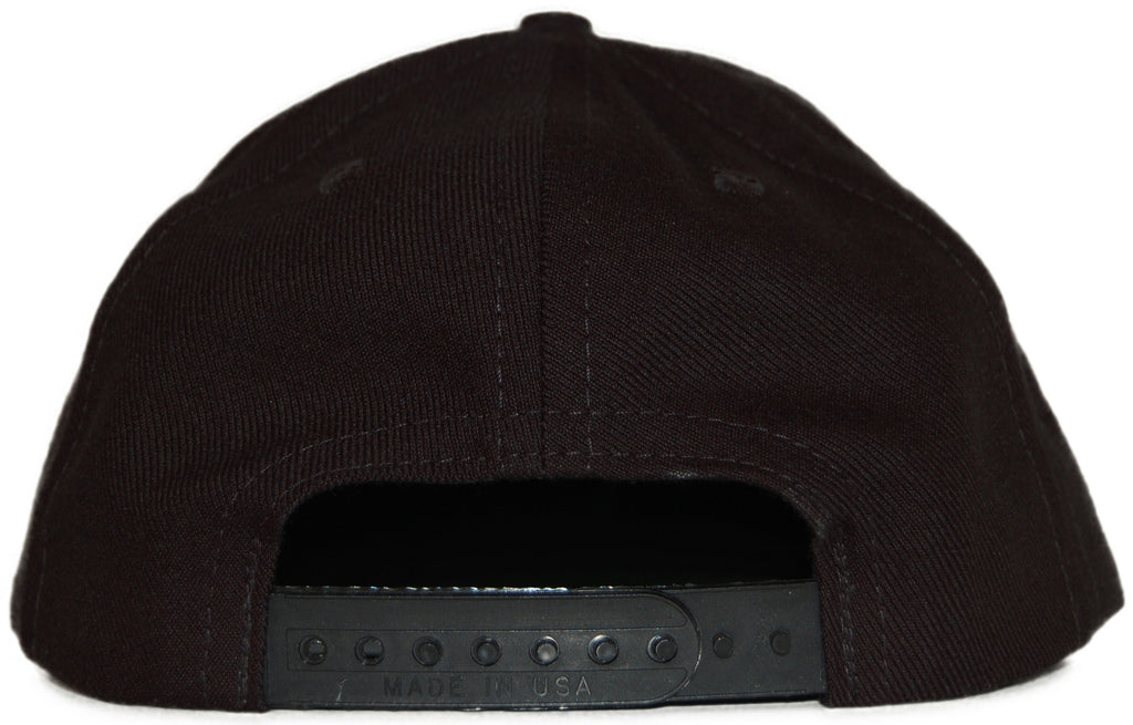 <!--2011091310-->Acrylick - 'Icon' [(Black) Snap Back Hat]