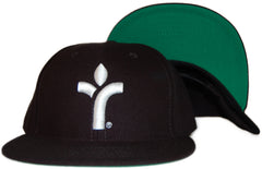<!--020110913035817-->Acrylick - 'Icon' [(Black) Snap Back Hat]