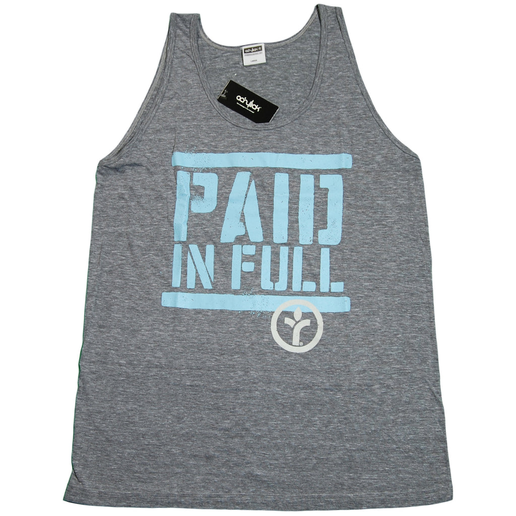 <!--2011071237-->Acrylick - 'Paid In Full' [(Gray) Tank Top]