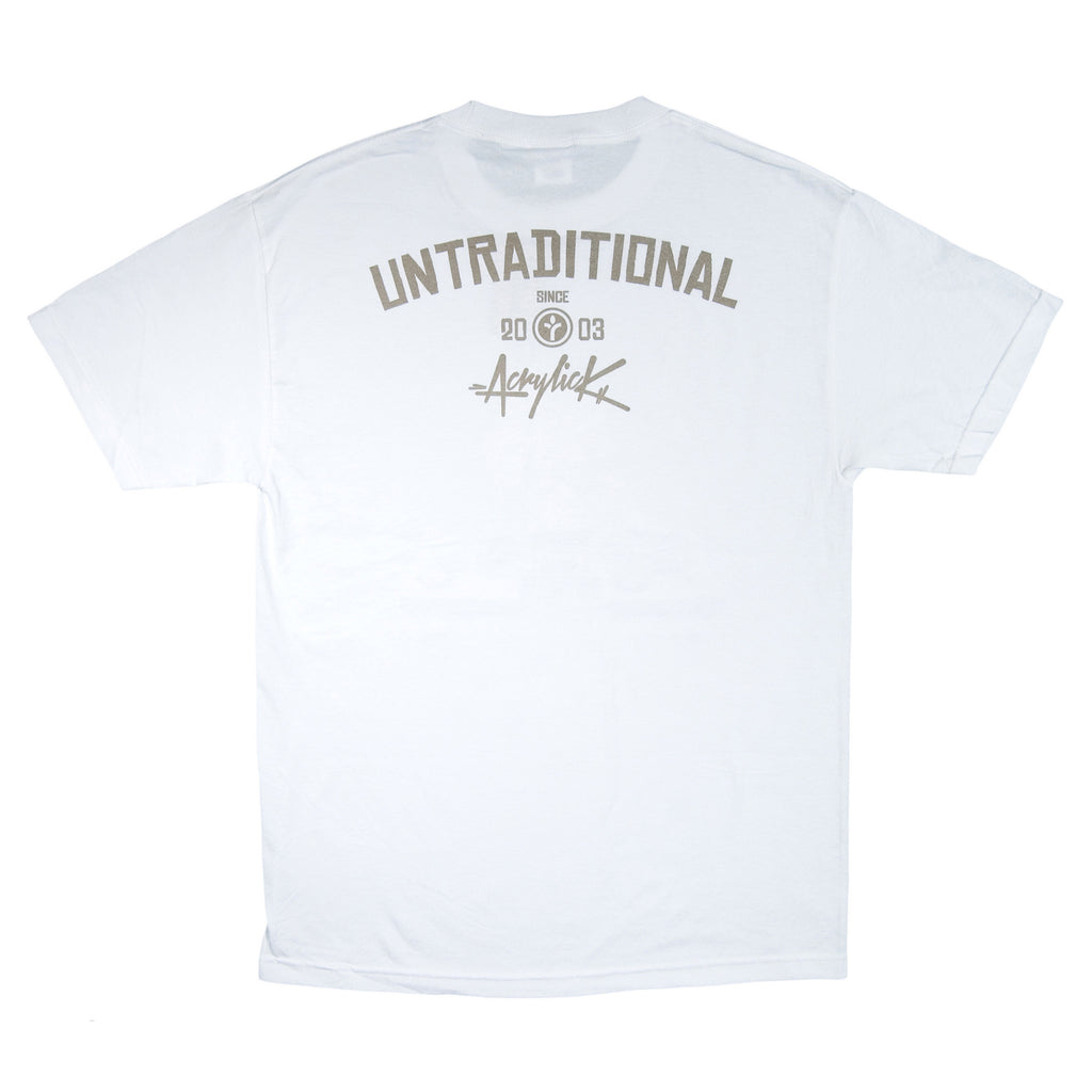 <!--2014041854-->Acrylick - 'Untraditional' [(White) T-Shirt]