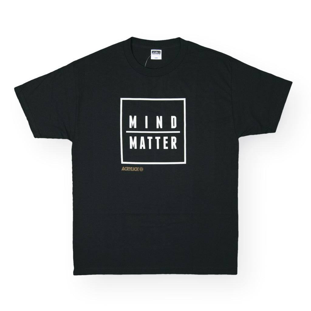 <!--020160401072753-->Acrylick - 'Mind Over Matter' [(Black) T-Shirt]