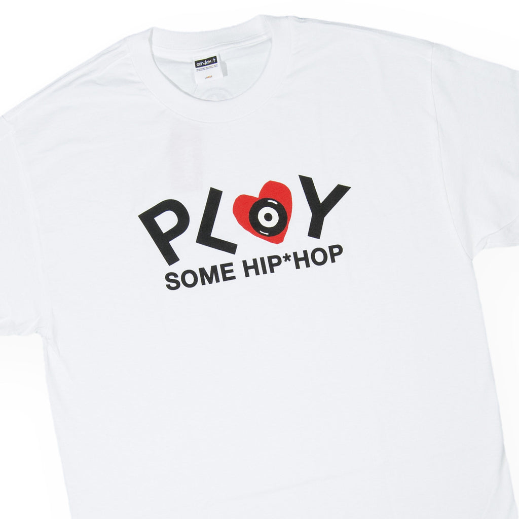 <!--020160401072750-->Acrylick - 'Play Hip Hop' [(White) T-Shirt]