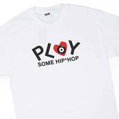 Acrylick - 'Play Hip Hop' [(White) T-Shirt]