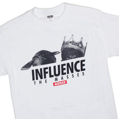 Acrylick - 'Influence' [(White) T-Shirt]