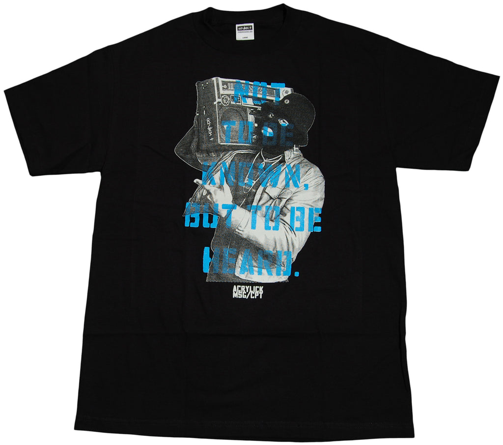 <!--2011071206-->Acrylick - 'Unknown' [(Black) T-Shirt]