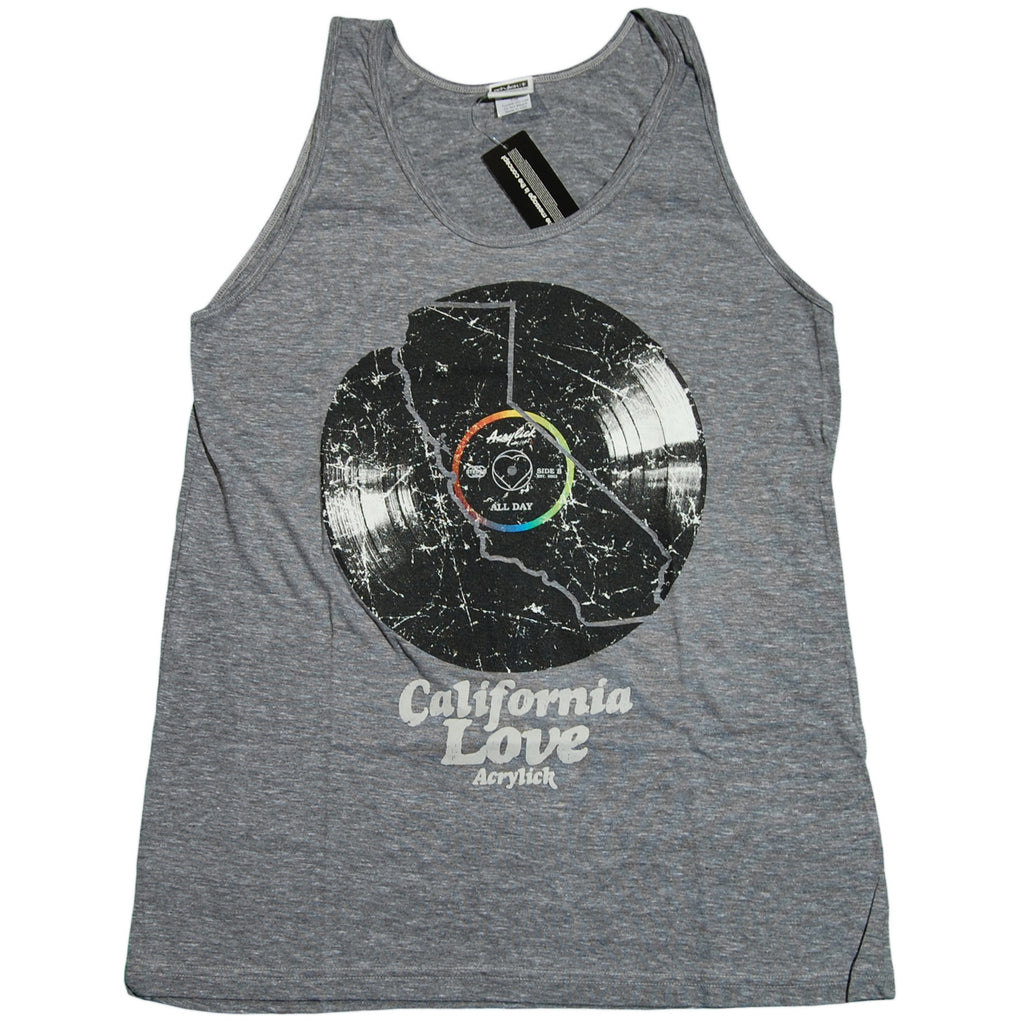 <!--2011071240-->Acrylick - 'Vibrations' [(Gray) Tank Top]