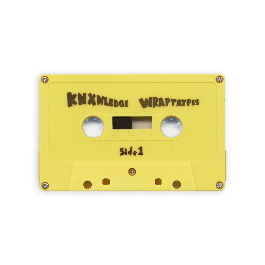 Knxwledge - 'WrapTaypes' [(Yellow) Cassette Tape]