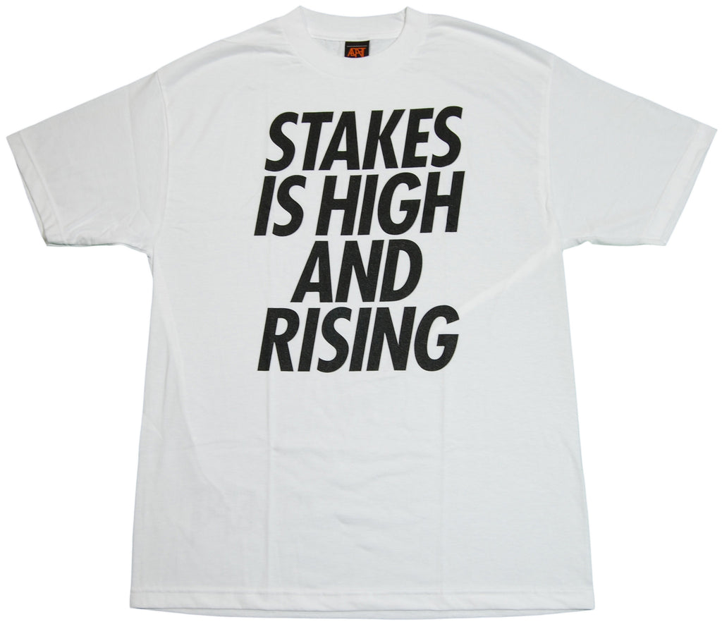 <!--2011092728-->Adapt - 'Stakes Is Rising' [(White) T-Shirt]