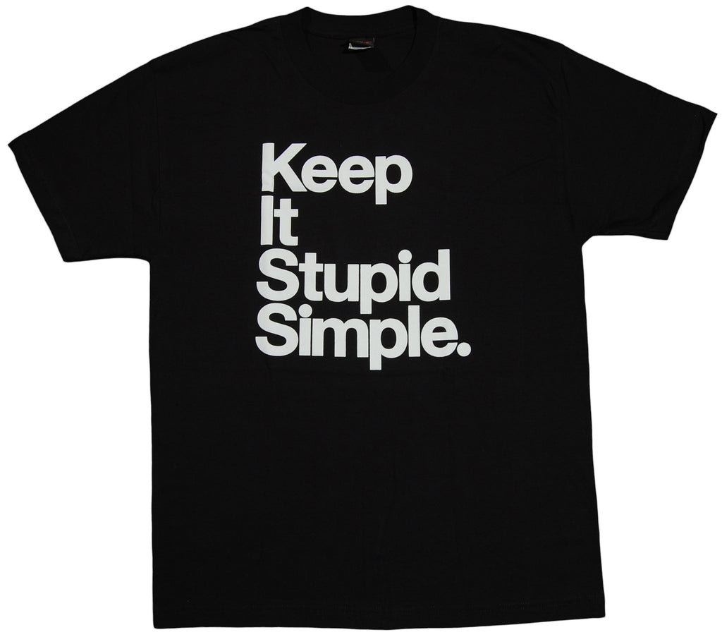 <!--2011092704-->Adapt - 'Stupid Simple' [(Black) T-Shirt]
