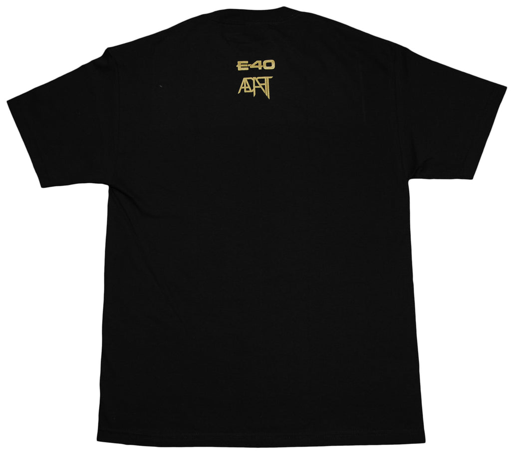 <!--2012012440-->Adapt x E-40 - 'Forty' [(Black) T-Shirt]