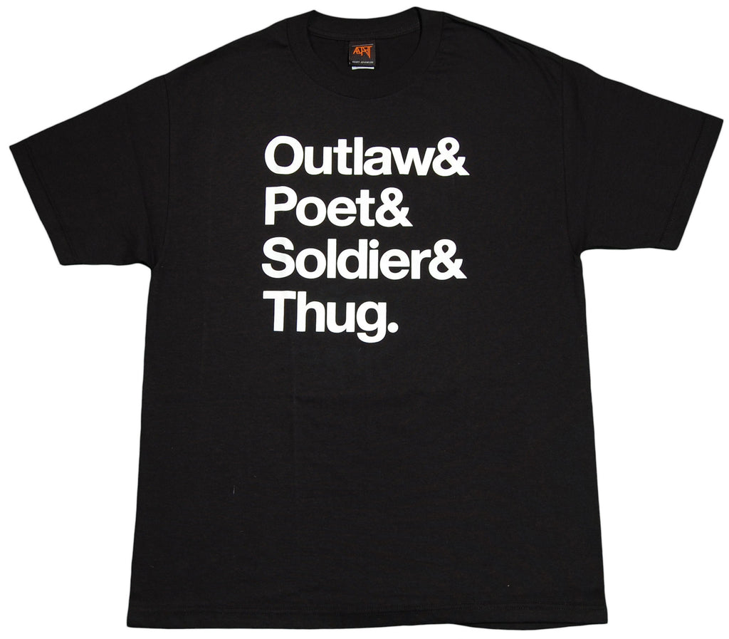 <!--2012040347-->Adapt - 'Outlaw' [(Black) T-Shirt]