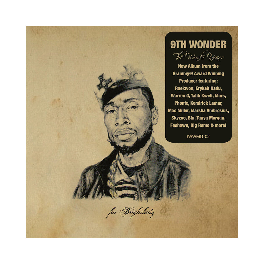 <!--120110927012776-->9th Wonder - 'The Wonder Years' [CD]