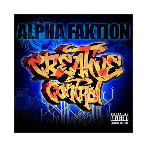 "[""Alpha Faktion - 'Creative Control' [CD]""]"
