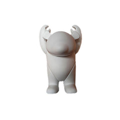 <!--020090526018217-->YOKA - 'YOKA (D.I.Y.)' [(White) Toy [Blank Do-It-Yourself]]