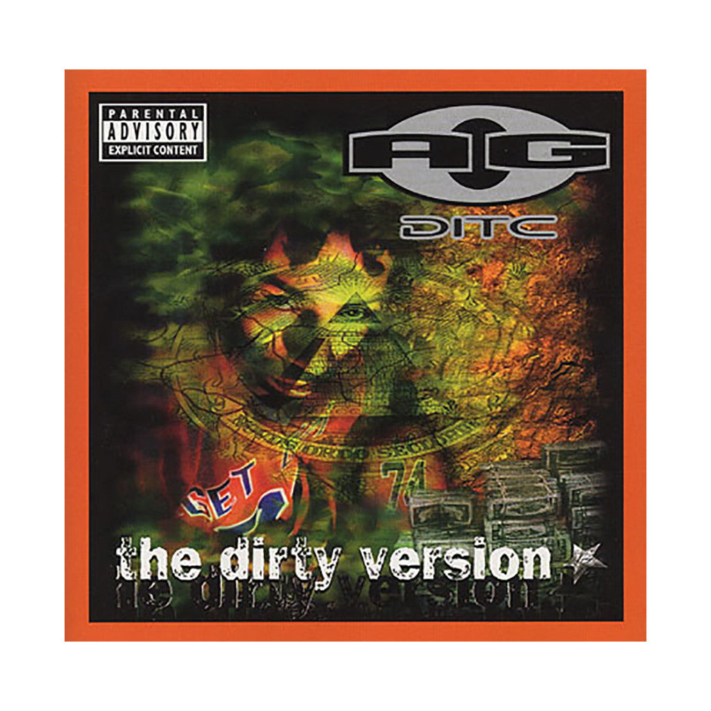 A.G. - 'The Dirty Version' [CD]