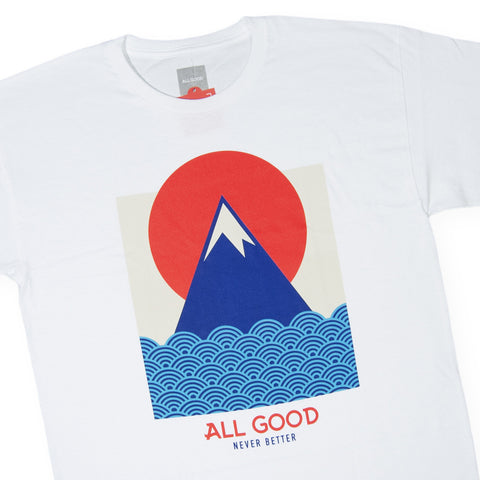 All Good - 'Nami' [(White) T-Shirt]