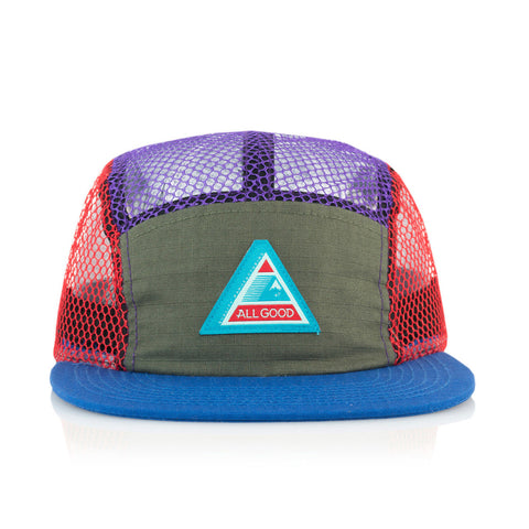 All Good - 'MTN Tech' [(Multi-Color) Five Panel Camper Hat]