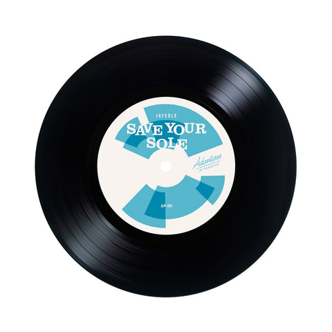 "J-Boogie b/w Jay Sole - 'Domino Boogie b/w Save Your Soul' [(Black) 7"" Vinyl Single]"
