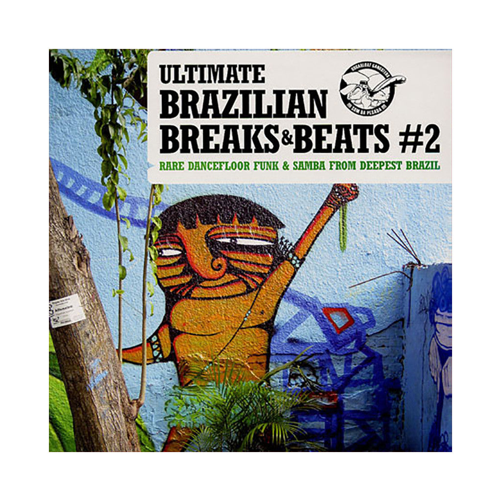 Ultimate Brazilian Breaks & Beats - 'Vol. 2' [(Black) Vinyl LP]
