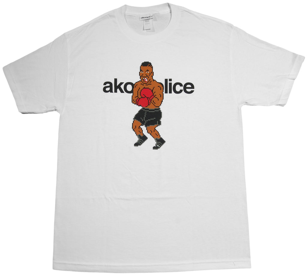 <!--2013100140-->Akomplice - 'Mike Tyson's Bite Out' [(White) T-Shirt]