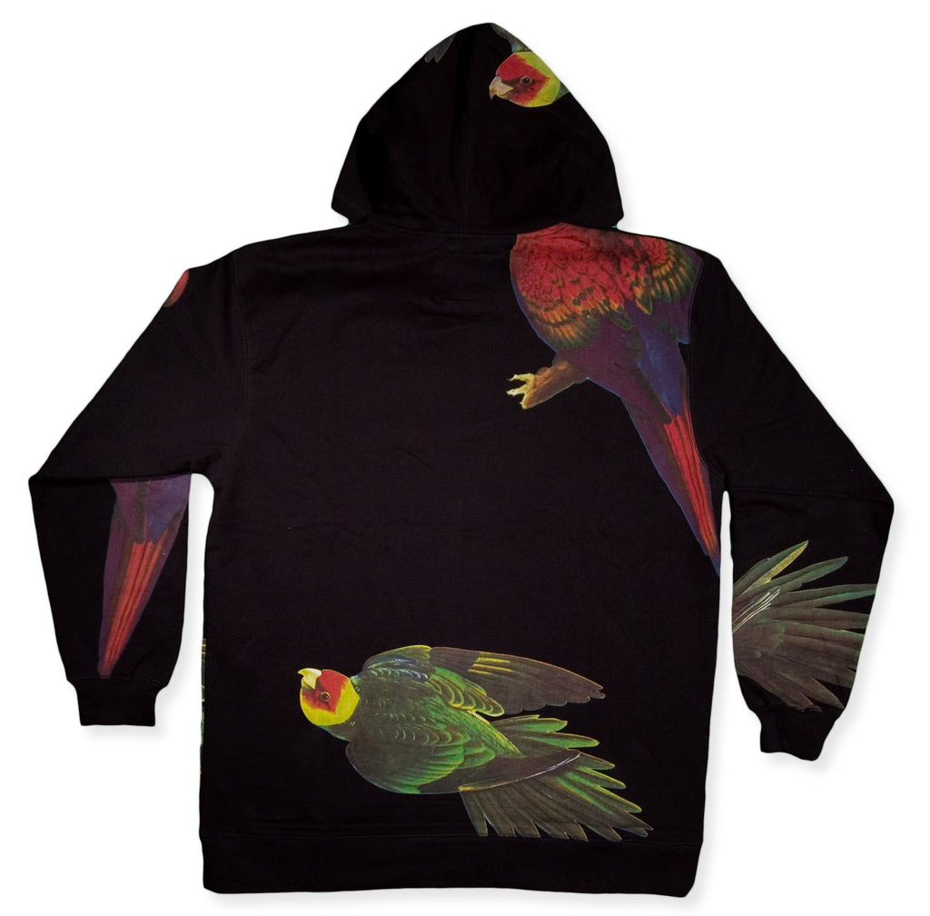 <!--2014081231-->Akomplice - 'Samba Bird' [(Black) Hooded Sweatshirt]