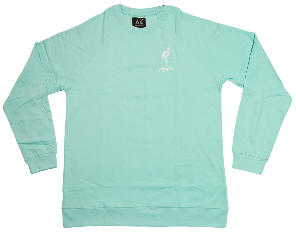 <!--2013061835-->Akomplice - 'Mingo' [(Light Green) Crewneck Sweatshirt]