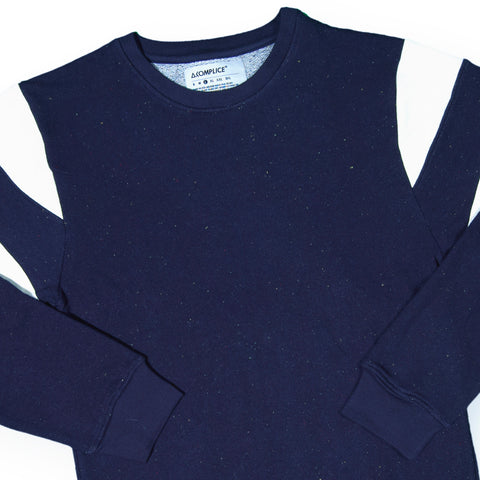 Akomplice - 'The Navy Epple Sport' [(Dark Blue) Crewneck Sweatshirt]