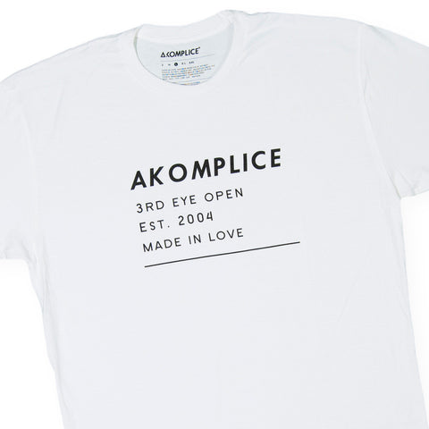 Akomplice - 'Stamp' [(White) T-Shirt]